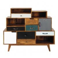 Tủ trang trí gỗ công nghiệp tiện dụng - VTT 1